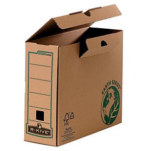 Bankers Box Scatola archivio Banker Box Earth, Cartone, Avana, 250 mm x 315 mm x 100 mm (confezione 20 pezzi)