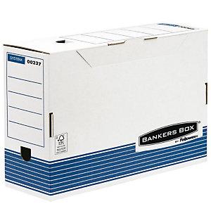 Bankers Box Scatole archivio Legal Linea ''Bankers Box'' - Dorso 8,5 cm (confezione 10 pezzi)