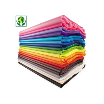 Barevný hedvábný papír