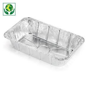 Barquette en aluminium