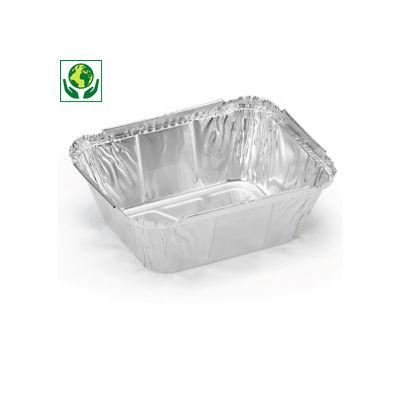 Barquette standard en aluminium