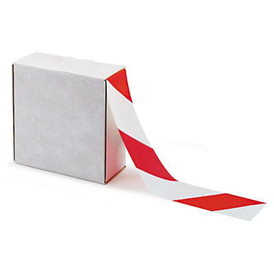 Barrier hazard warning tape