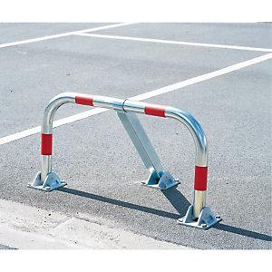 Barrière de parking 3 pieds à clé