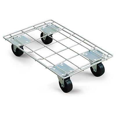 Base de acero con ruedas