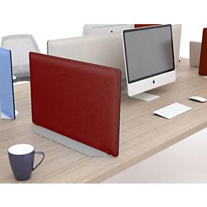Base di appoggio per pannello fonoassorbente 80 cm, Alluminio, Grigio