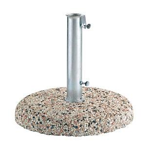Base in graniglietto per ombrellone, 25 KG, ø 45 cm