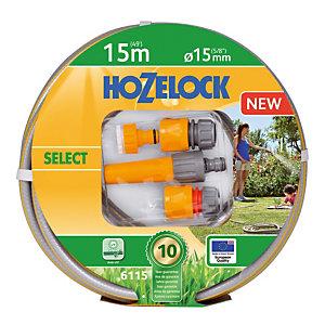 Batterie tuyau Sélect 15 m  ø 15 mm  Hozelock