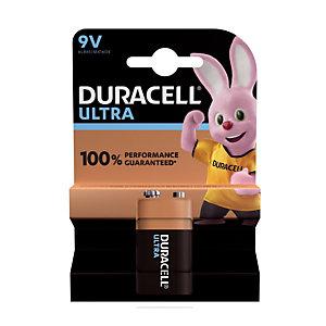 Batterij Duracell Ultra 9V / 6LR61, set van 1 batterij