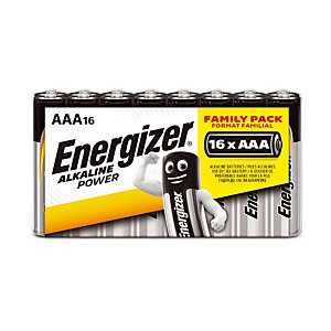 Batterijen Energizer Alkaline Power LR03 - AAA, per set van16