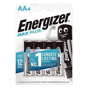 Batterijen Energizer Max Plus AA, set van 4 batterijen