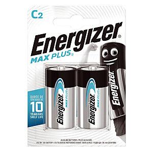 Batterijen Energizer Max Plus C, set van 2 batterijen