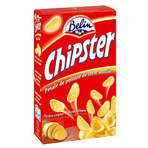 BELIN Biscuits salés Belin Chipster, boîte de 75 g