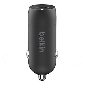 Belkin F7U099BT04-BLK, Auto, Encendedor de cigarrillos, 1,2 m, Negro