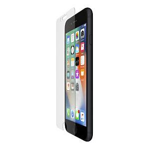 Belkin SCREENFORCE InvisiGlass Ultra, Protector de pantalla, Apple, iPhone SE 2nd gen, iPhone 8, iPhone 7, Antibacteriano, Transparente, 1 pieza(s) F8W883ZZ-AM
