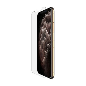 Belkin SCREENFORCE InvisiGlass Ultra, Protector de pantalla, Teléfono móvil/smartphone, Apple, iPhone 11 Pro Max, Resistente a rayones, 1 pieza(s) F8W941ZZ
