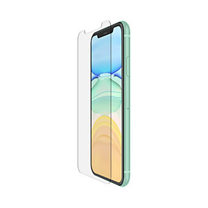 Belkin SCREENFORCE Tempered Glass, Protector de pantalla, Teléfono móvil/smartphone, Apple, iPhone 11, Resistente a rayones, 1 pieza(s) F8W948ZZ