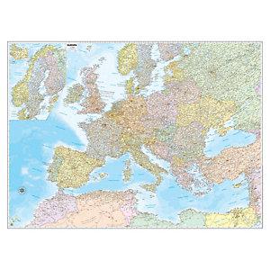 BELLETTI Carta geografica Europa amministrativa e stradale - murale - 132x99 cm - Belletti