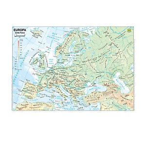 BELLETTI Carta geografica Europa - scolastica - plastificata - 297x420 mm - Belletti