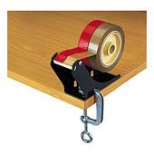 Bench clamp tape dispenser