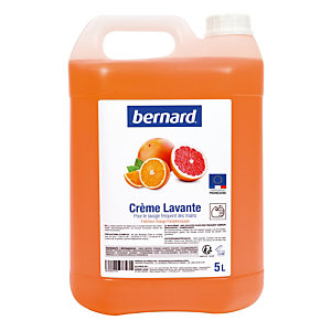 Bernard handwascrème 5 L sinaas-pompelmoes