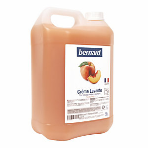 Bernard handwascrème Bernard 5 L perzik