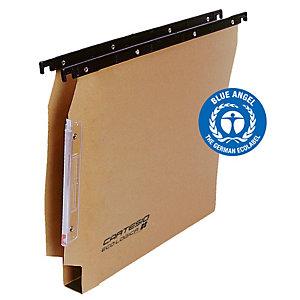 BERTESI Cartella sospesa armadio Cartesio  - 33 cm - fondo U 30 mm - 32,6x28 cm - avana - Bertesi