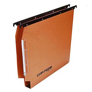 BERTESI Cartella sospesa Cartesio - armadio - interasse 33 cm - fondo U 30 mm - 32,6x28 cm - avana - Bertesi