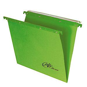 BERTESI Cartella sospesa Joker - cassetto - interasse 33 cm - fondo V - 31,2x25 cm - verde - Bertesi