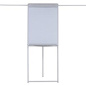 Bi-Office Design, caballete con barra de apoyo, magnético, 700 x 1000mm