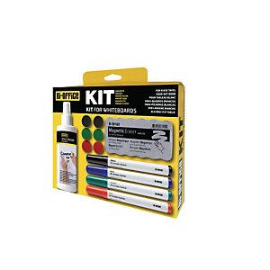 Bi-Office Kit de démarrage pour tableau blanc magnétique
