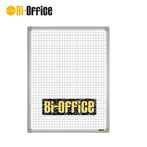 Bi-Office Lavagna, Superficie magnetica quadrettata, Cornice in plastica, 450 x 600 mm