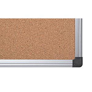 Bi-Office Maya Pannello in sughero, Cornice in alluminio, 900 x 1200 mm