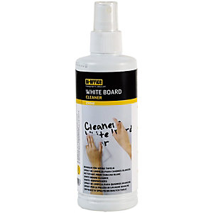 Bi-Office Spray limpiador para pizarras blancas, 250 ml