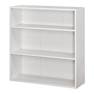 Bibliothèque Libri 2 - Blanc - H.100 x L. 94 cm