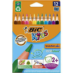 BiC Evolution Triangle Lápices de colores