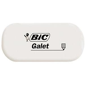 BIC® Gomme blanche GALET - sans fourreau