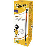 BIC® Matic Original Porte-mine pointe moyenne 0,7 mm HB corps noir transparent
