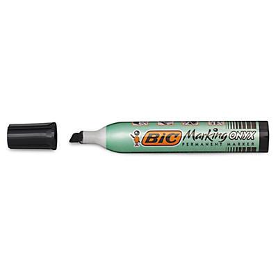 BIC® Permanent-Marker Onyx (gross), Keilspitze