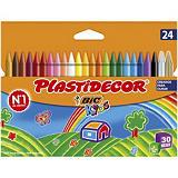 BiC Plastidecor Ceras de colores