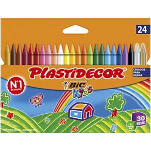 BIC® Plastidecor Ceras de colores