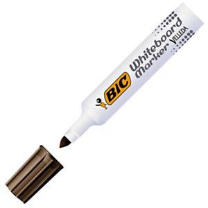 BIC® Velleda 1711 Marqueur effaçable tableau blanc pointe ogive 1,9 mm noir