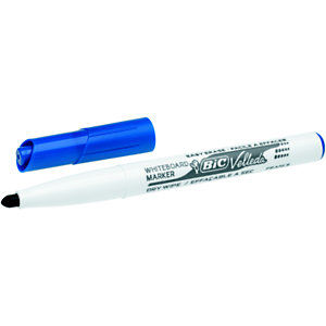 BIC® Velleda 1741 Marqueur effaçable tableau blanc pointe ogive 1,4 mm bleu