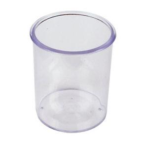 Bicchiere portapenne, Trasparente