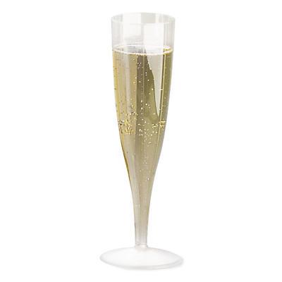 Bicchieri flute in plastica