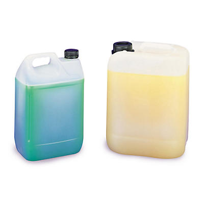 Bidon plastique transparent##Jerrycan in kunststof