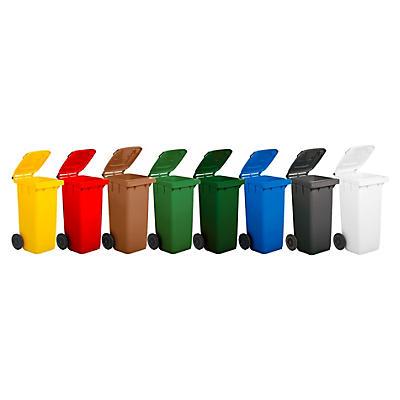 Bidone raccolta differenziata colorato capacità 120  litri