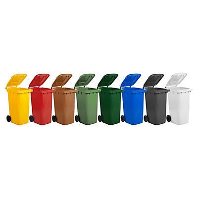Bidone raccolta differenziata colorato capacità 240 litri