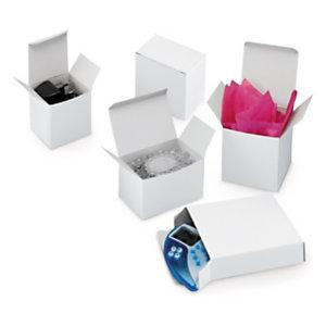46282160a Biele krabičky z hladkej lepenky
