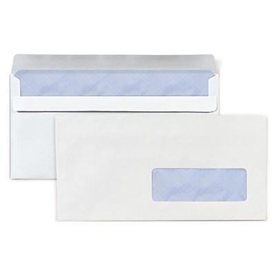 Biele listové obálky DL