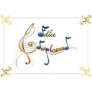 Biglietto Auguri, Felice Compleanno, 12 x 18 cm
